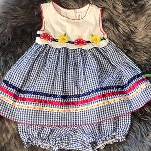 🌺🌺LIKE NEW 🌺🌺 Youngland Size 12moths,2pc Dress